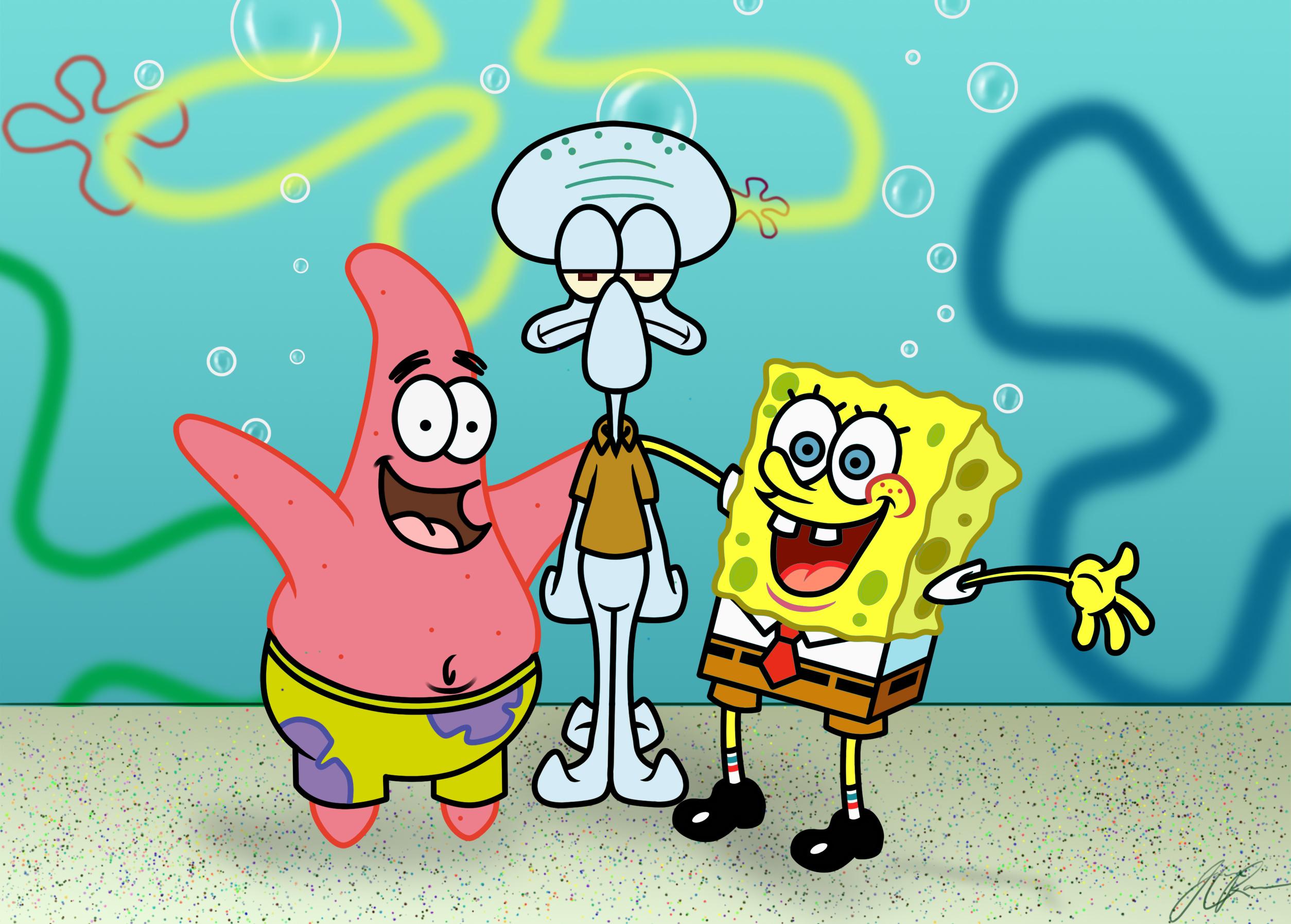 spongebob schwammkopf gary